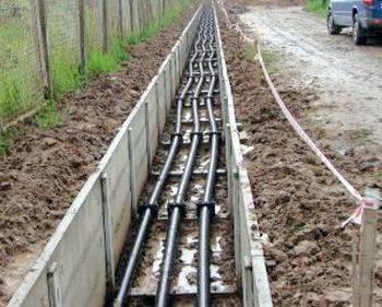 Прокладання кабелів в каналах